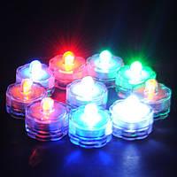 LED Погружной водонепроницаемый цветочные украшения ваза чай свет батареи