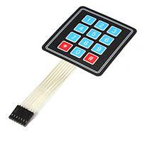 4 x 3 матрицы 12 ключ массива переключатель мембраны клавиатуры клавиатура для Arduino