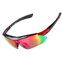 Защитные солнечные очки uv400 поляризованные спортивные очки велосипед очки
