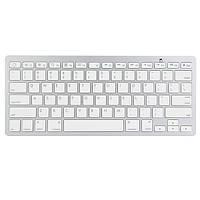 Bluetooth для беспроводной белая клавиатура для MacBook для Mac iPad и iPhone
