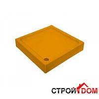 Цветной прямоугольный поддон Artel Plast Перфект 800х1200