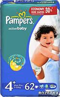 Подгузники 3 Midi 4-9кг 62шт Active baby Pampers 1/1