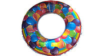 Надувной круг воздушные шарики 60 см