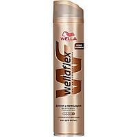 Лак для волос Wellaflex 400мл Блеск супер сильная фиксация 1/6