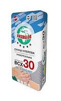 Смесь клеевая для плитки для внутренних и наружных работ BCX-30 25,0кг Anserglob 1/48