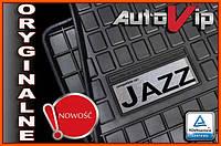 Резиновые коврики HONDA JAZZ IV 2015-  с лого