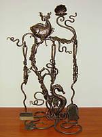 """Каминный набор кованый """"Морской"""" арт. kpr.6"""