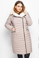 Зимняя куртка -26986-10 Большой Размер Женская бежевый, 54