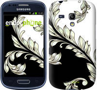 "Чехол на Samsung Galaxy S3 mini White and black 1 ""2805c-31-519"""