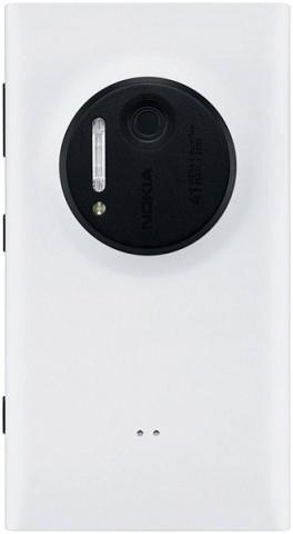 Задняя крышка Nokia 1020 Lumia белая оригинал