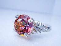 Серебреное кольцо с Мистическим топазом