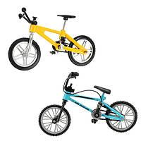 Творческий имитация мини-легированный пальцевидный велосипед Вилочный погрузчик игрушка Многоцветный детский спортивный подарок