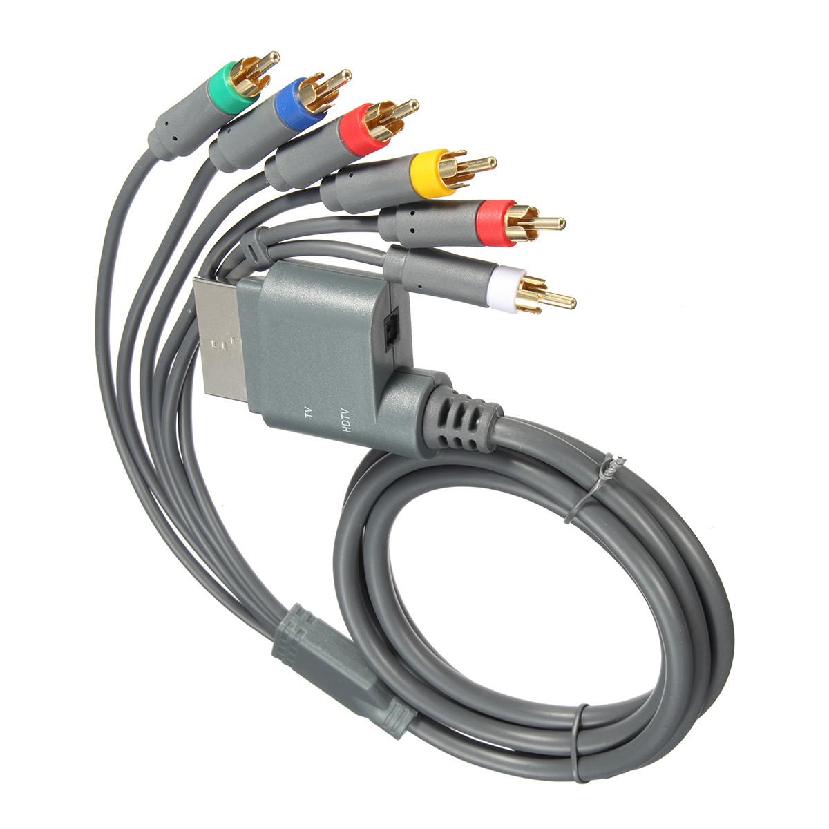 1,8 м Компонент HDTV Компонентное аудио видео AV High Definition Cable 6 In 1 Для XBOX One - ➊TopShop ➠ Товары из Китая с бесплатной доставкой в Украину! в Днепре
