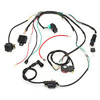 Электропроводка Ремкомплект соленоида катушки соленоида CDI для 50cc 70cc 90cc 110cc 125cc ATV Quad Dirt Bike