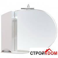 Зеркало Аква Родос Глория с пеналом и подсветкой (ZGLP105 л), фото 1