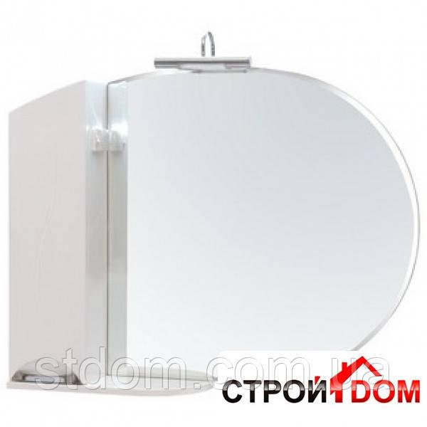 Зеркало Аква Родос Глория с пеналом и подсветкой (ZGLP105 л)