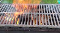 Решетка гриль чугунная для барбекю мангала 340х425 мм