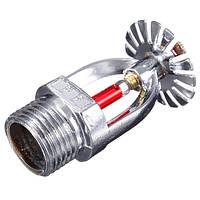 1/2 дюймов 68 ℃ Подвесная огнетушащая головка латуни для защиты системы пожаротушения