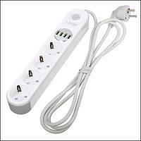 EU LDNIO ЛИДЕР Smart Разъем USB-адаптер питания Разъем Power Strip