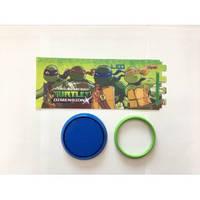 Стакан 1 ВЕРЕСНЯ для письменных пренадлежностей Ninja Turtles разборной