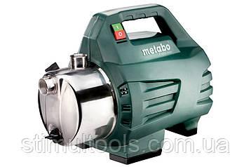 Садовий насос Metabo P 4500 Inox