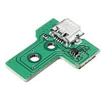 Контроллер USB Зарядный порт Разъем Плата JDS-030 F001 V1 Штыревой кабель для SONY для PS4