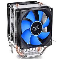 Deepcool 80X80X25mm Вентилятор охлаждения радиатора с двумя вентиляторами для LGA1156/775/1150/1155/1151