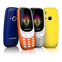 (Русскаяклавиатура)VKWORLDZ33102.4дюймов 3D-экран 1450mAh 2MP FM двойной сим двойной режим ожидания мобильный телефон мобильник