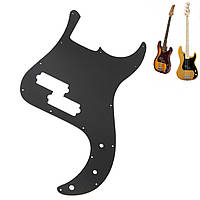 Серебряное зеркало P Bass Pickguard PB Scratch Пластина подходит для точной басовой гитары