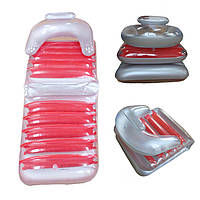 IPRee™InflatableБассейнFloatsСкладной стул с плавающей кроватью Lounge Пляжный Рафтинг с воздушным матрасом