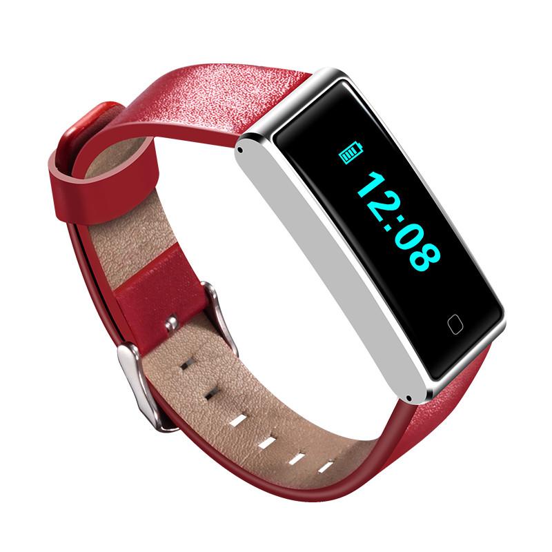 NFC QS60 Сердце Оценить ЭКГ-трекер Спортивная активность Smart Wristband для мобильного телефона 1TopShop