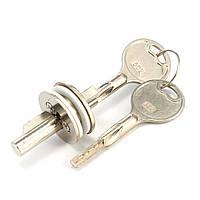 Раздвижные стеклянные двери Замок Витрина Дисплей Шкаф цилиндра Замок с ключами