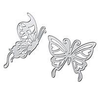 Butterfly Metal Cutting Dies Трафаретная записная книжка Фото альбом Paper Embossing Craft
