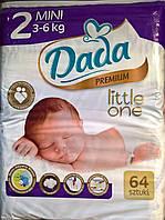 Подгузники детские DADA Premium mini 3-6 кг 64 шт