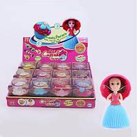 Кукла-мини в инд.упаковке, цена за 1 шт. , мини-капкейк с ароматом, 7см, в дисплее (микс видов).
