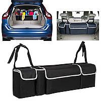 Auto Авто Seat Back Multi Pocket Storage Органайзер Тканевый держатель Сумка
