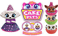 Кукла-мини CAKE PETS, цена за 1шт., с ароматом, 7см, в дисплее (микс видов).