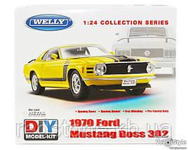 Машинка Збірна модель Welly, Ford Mustang 1:24 22088KB