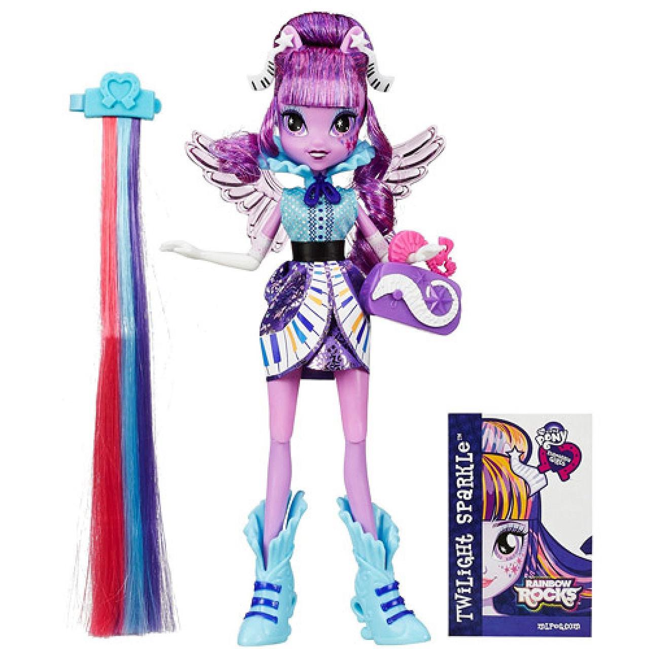 Кукла Май литл пони Девушки Эквестрии - Твайлайт Спаркл Стильные прически (Искорка)