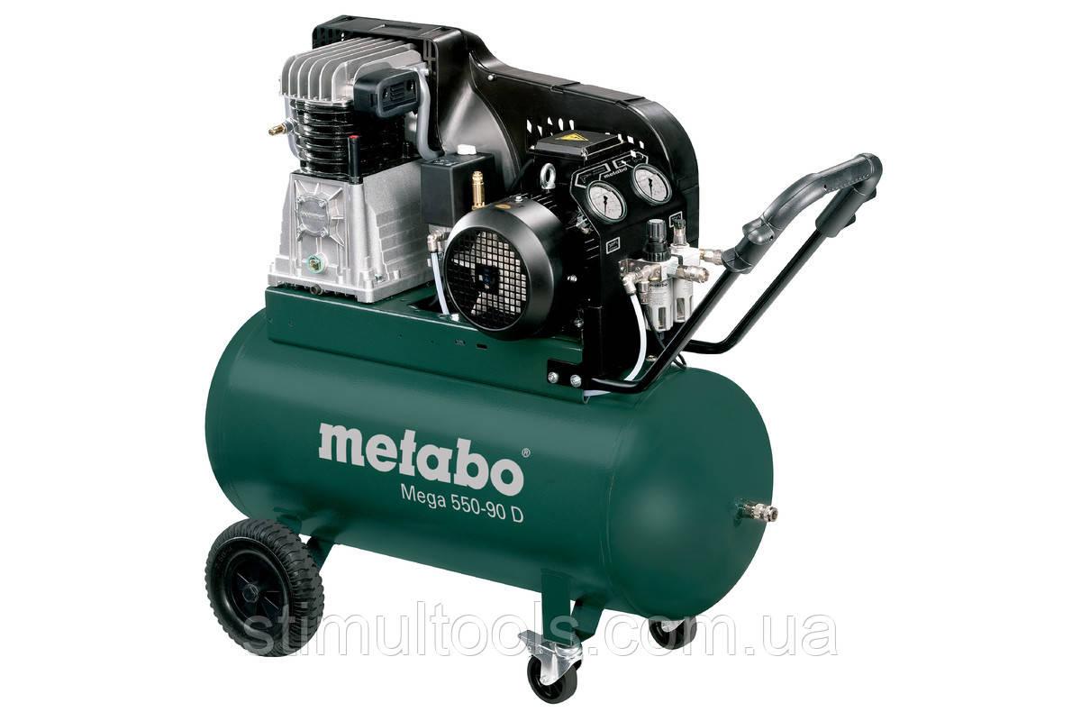 Ременной компрессор Metabo Mega 550-90 D (380 в)