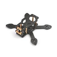 Happymodel Toad90 90 мм Micro 3K Carbon Fiber Frame Набор с ЧПУ Алюминий камера Крепление для RC FPV Racing Дрон