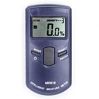 MD918 Цифровой индуктивный измеритель влажности Измеритель влажности древесины Измеритель влажного детектора Анализатор влажности настен