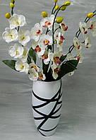 Скляна ваза Меридіан № 37 Стеклянная ваза Меридиан