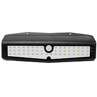 10W 50 LED Солнечная PIR Motion Датчик Настенный светильник На открытом воздухе Водонепроницаемы Сад Безопасность Лампа DC5V