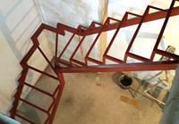 Каркас лестницы поворотно-забежной 90гр., фото 1
