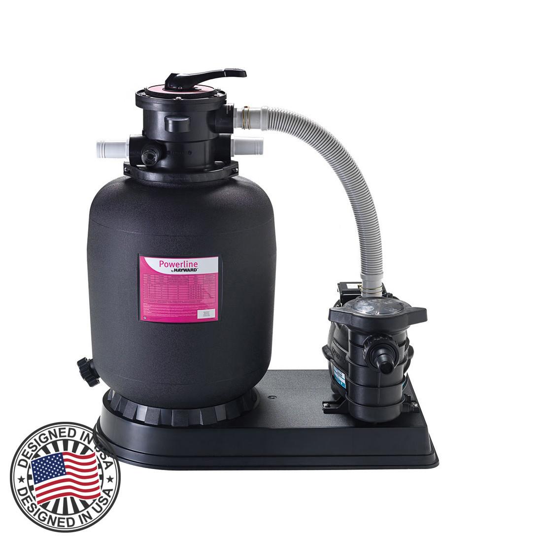 """Фильтрационная установка Hayward PowerLine 81069 (5 м³/ч, D368) - """"Компания Аквашок""""  в Днепре"""
