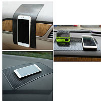 NanoАвтоВолшебныйАнтискользящаяприборнаяпанель Sticky Pad Нескользящий коврик GPS Телефонный удержание