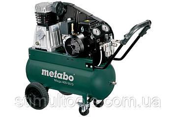Ремінною компресор Metabo Mega 400-50 D (380 в)