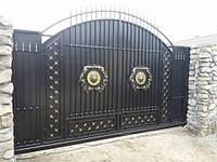 Кованные ворота Белогородка
