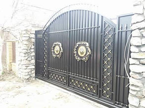 Кованные ворота Белогородка, фото 2